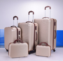 2017 Factory Polycarbonate PC ABS Trolley Luggage carry Bag