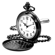 Newest fashion vogue chain pocket watch popular custom cheap pocket watches made in China