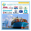 DDU DDP to door sea container shipping from China to USA