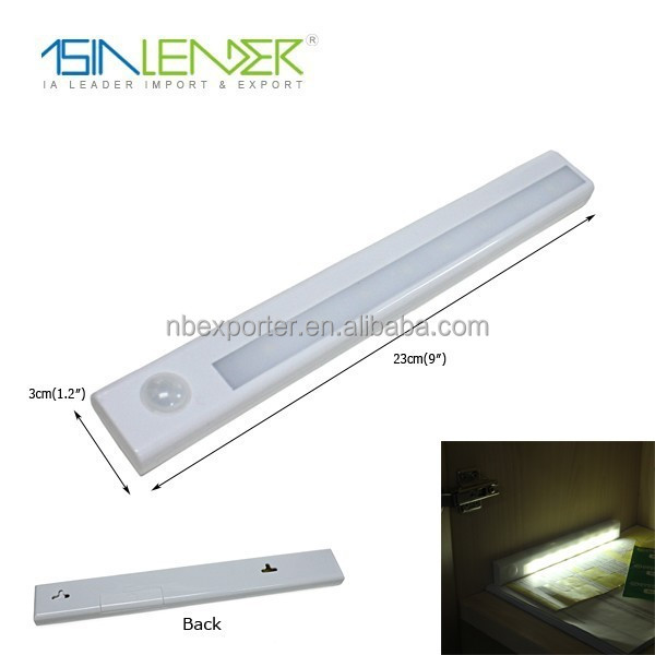 adjustable angle motion sensor light