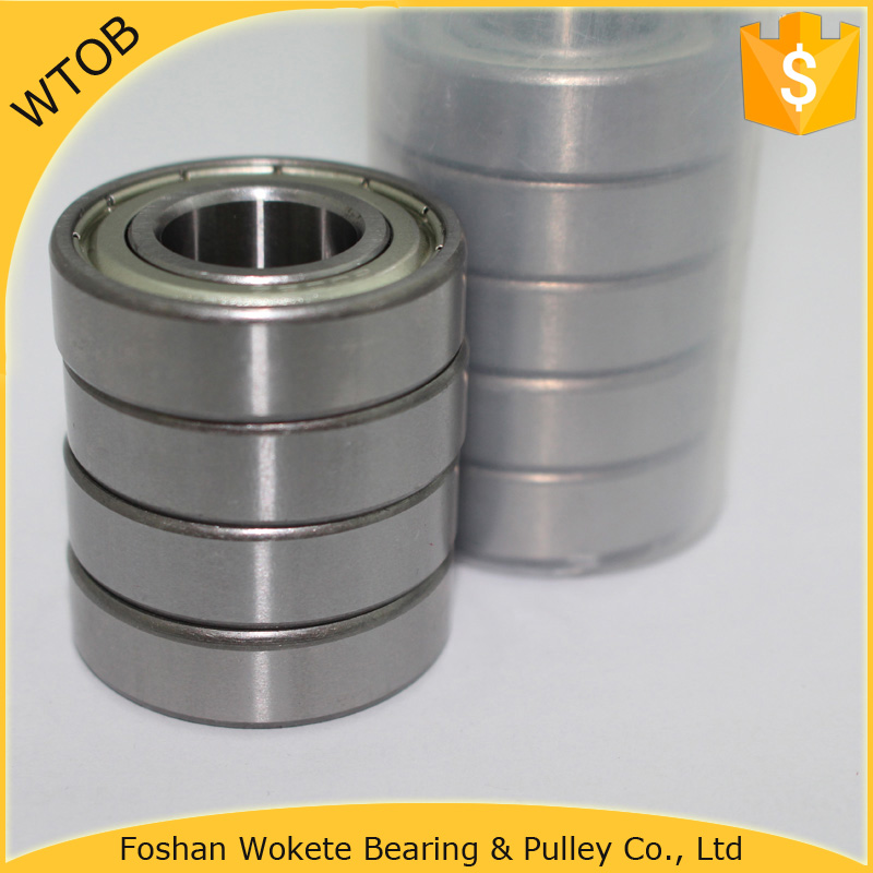 Chrome Steel 6002 2RS Bearing Size 15x32x9 Shielded Ball Bearings China Supplier