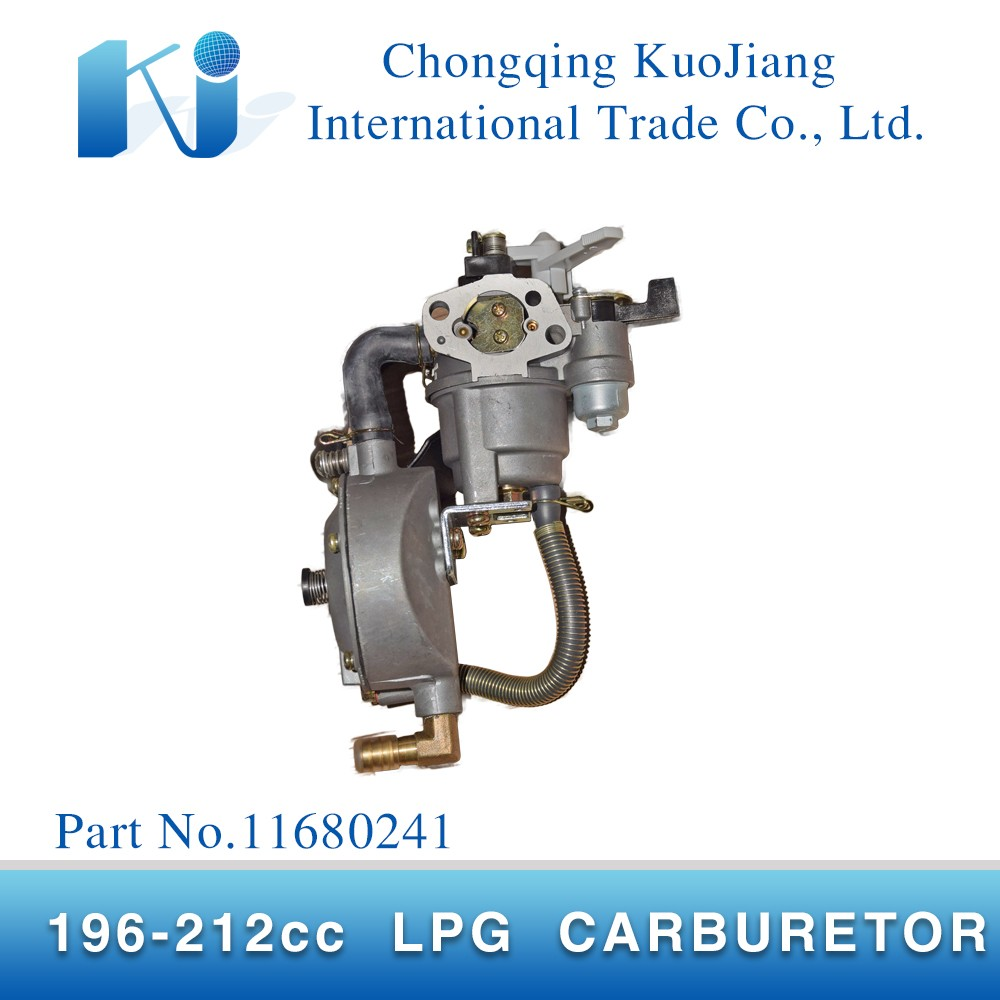 Cheap 170 gasoline engine 212cc 5.5hp LPG carburetor assy for generators