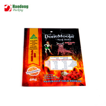 FDA Food Grade Quality Custom Beef Jerky Packaging Bags With Window