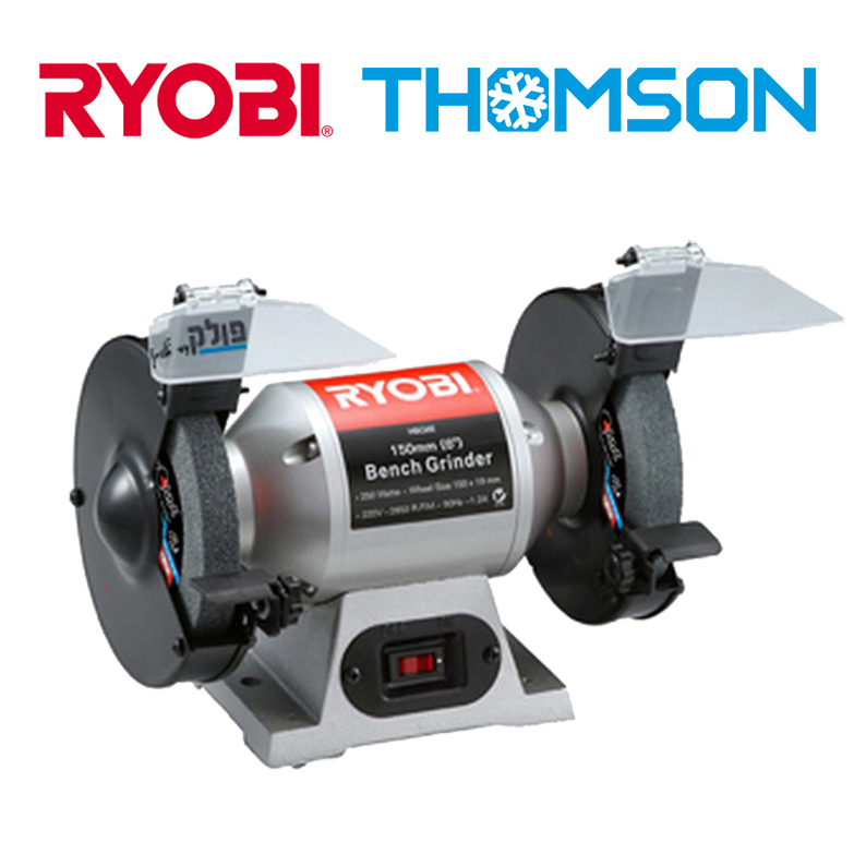 RYOBI Compact and high power bench grinder
