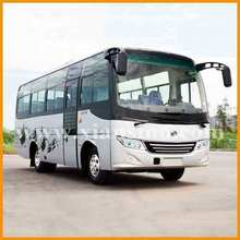 24-31 seater bus with yuchai engine LISHAN bus left hand drive