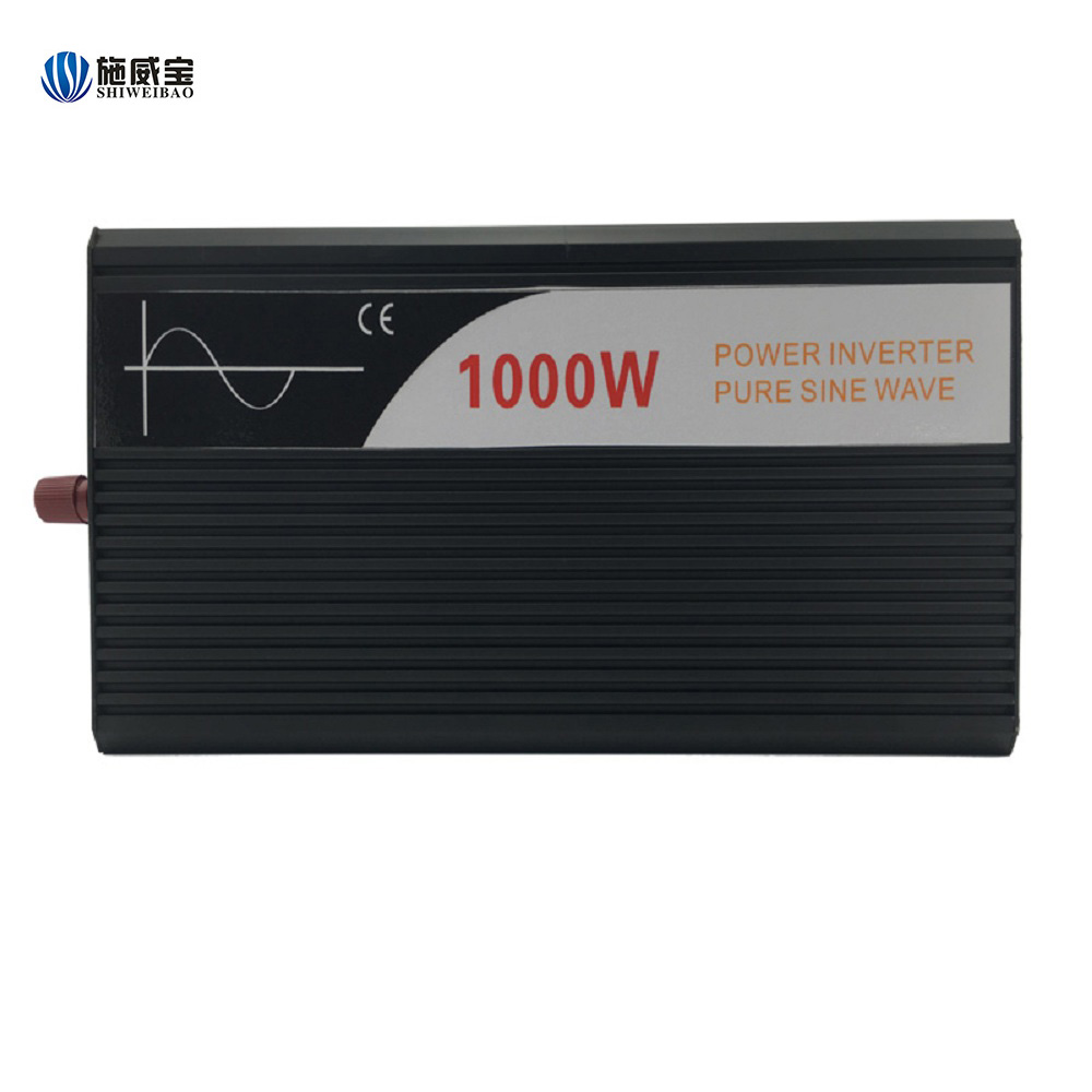 1000w dc 12v/24v/48v ac 120v/220v/230v Pure sine wave car inverter