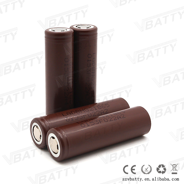 Superior power tools batteries 18650 hg2 LG hot sale battery cells lg hg2 3000mah 18650 battery cell