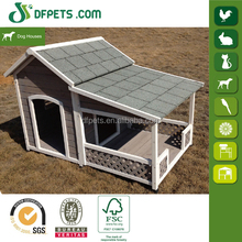 Prefabricated Wooden Dog House With Balcony