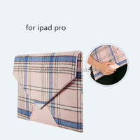New Items in China Market Liner Bag Universal Pouch Leather Case for Ipad Pro/IpadMini4