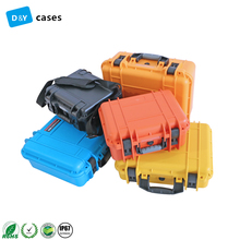 Protective Plastic Trolley Equipment Carrying case with foam