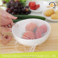 Aesthetic appearance hot sale food grade cling film plastic wrap