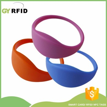 WRS25 SRIX4K NFC rfid water proof bracelets for swimming pool / tracking( GYRFID )