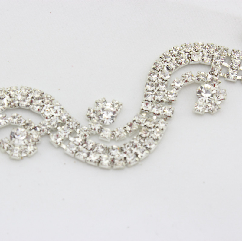 Newest casual sexy rhinestone waist chain with pearl for lady