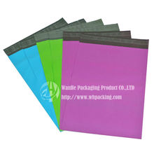 Custom made plastic mailers envelope size b5 with self adhesive