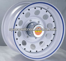 Professional truck accessories supplier for 4x4 offroad steel rims for cars