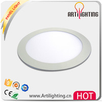 High precision 15w 1200lm 6500k white light round shaped led ceiling lamppanel lamp