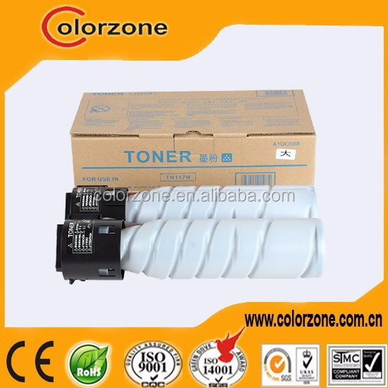 Compatible Konica Minolta TN 117 toner cartridge for Konica Minolta Bizhub 164/184/7718