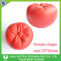 Custom Logo Promotion PU Tomato Stress Reliver