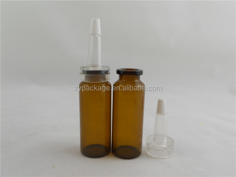 Bayonet glass vial, glass injection tube bottle, medical use glass vial