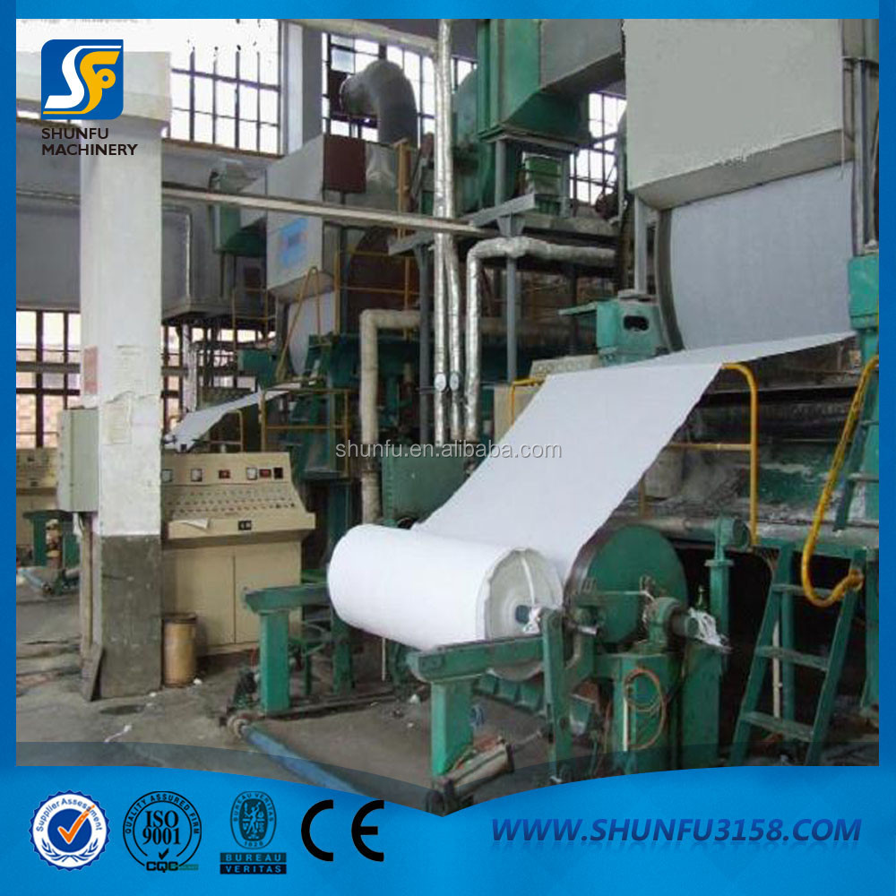 1TPD Small Toilet Paper Making Machine From Manufacture