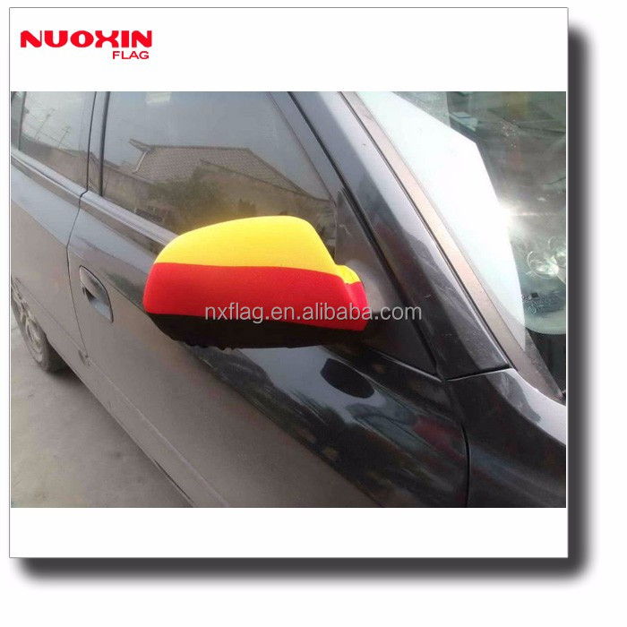 New design china machine making custom printed car mirror flag socks
