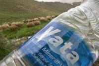 pure natural mineral water