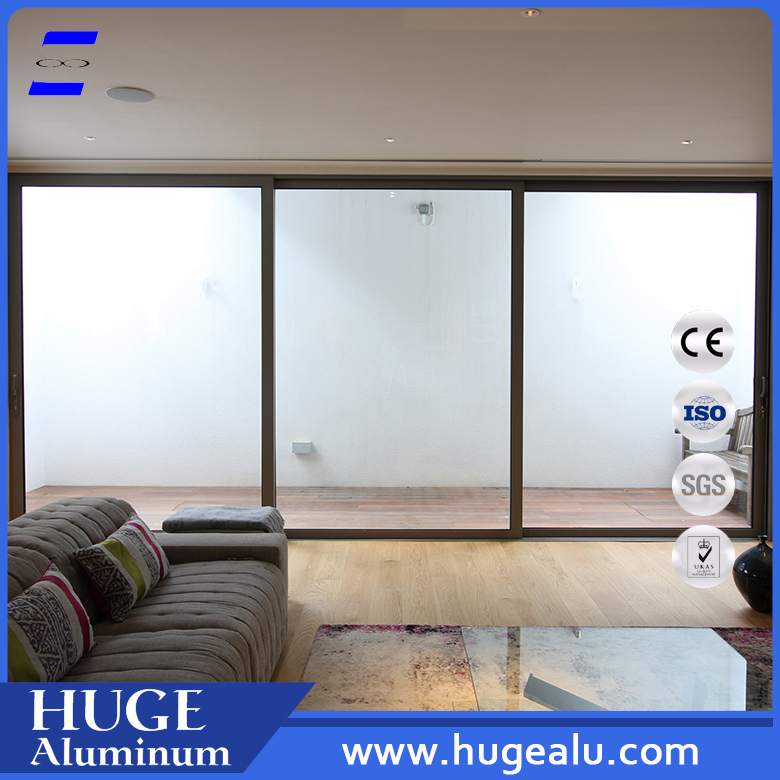 guangdong door & window multi track aluminum sliding door