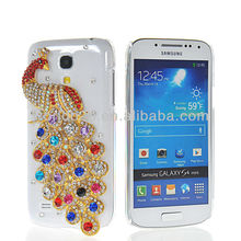 Luxury Peacock Bling Hard Case Cover for Samsung Galaxy S4 Mini i9190