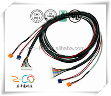 wire harness for safety airbag with HRS