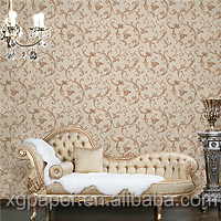 fireproof pvc wallpaper for interior decoration
