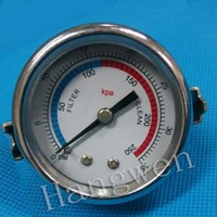 2 inch 52mm pressure gauge with u clamp
