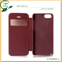 Mobile Phone Case for Apple iPhone 5C Case, for iPhone 5C Flip Leather Case, for Apple iPhone Case PU leather