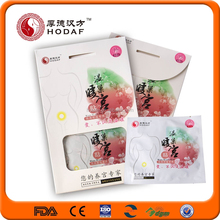 original factory supply pain relief heating warmer dysmenorrhea patch