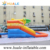 Huale commercial mini water park/small inflatable floating water park with pool