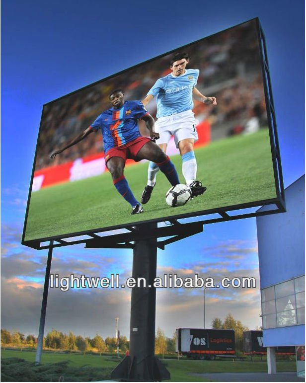 cheap price P16 advertising outdoor full color LED display billboard
