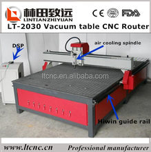 Jinan CNC Woodworking router with vacuum table/dust collector LT-2030