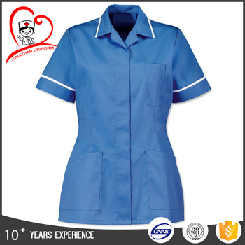 healthcare tunics unisex nurse tunic scrub top