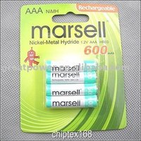 NiMh AAA 600 P4 rechargeable battery