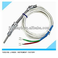 Flexible Thermocouple type K high quality sheath thermocouple & spring contact probe