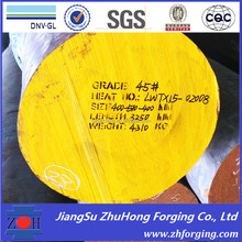 Forged steel alloy steel AISI DIN C45 S45C 1045 080A47 forged shaft