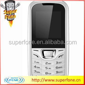 1.77 inch 2013 Small Size Mobile Phones With Dual Sim (E1500)