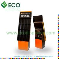 Promotional 4 Shelves Sports Wearing Corrugated Display For Supermarkets