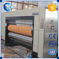 Custom carton packaging machinery automatic high speed carton flexo printer and slotter