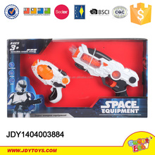 Hot item space toy gun electric gun with telescope and light sounds gun for kids