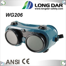 PVC frame shade#5 Green Lens Welding Goggle for metal-cutting operation