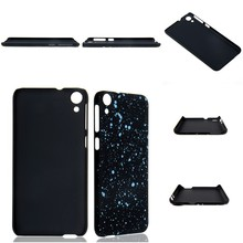 mobile phone case new cover sparkle two-color ruber coating case for HTC 820