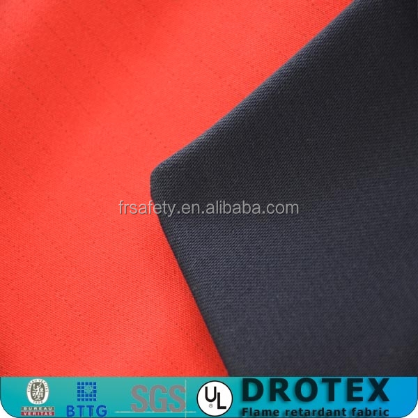 polyester cotton fire retardant fabric industrial workers protective clothing fabric