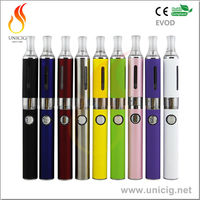 Ecig Authentic Unicig 510 Thread Evod MT3 vape pens oil and wax evod portable dry herb vaporizer