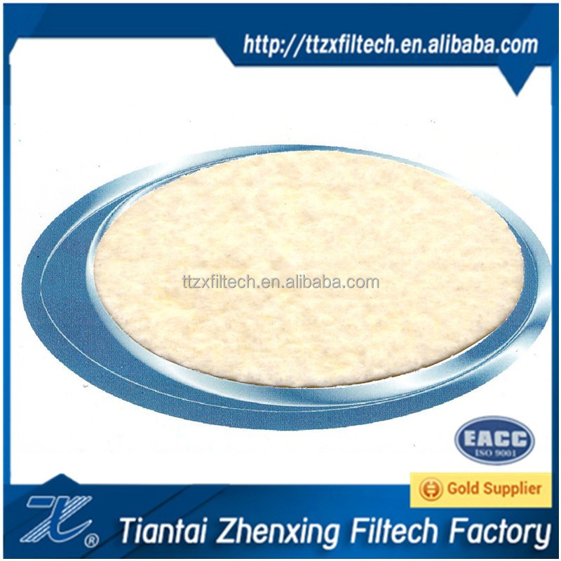 FMS needle punched felt filter cloth filter material