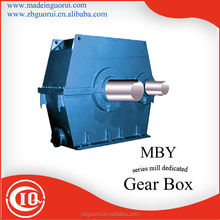 China GVORVI MBY 630 helical cement mixer machine reducer/gearbox/gear box